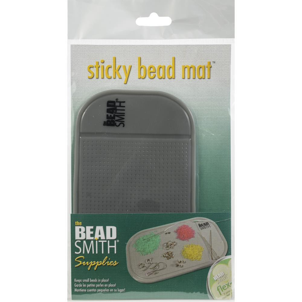 Beadsmith- Sticky Bead Mat 5.5 inch X3.25 inch