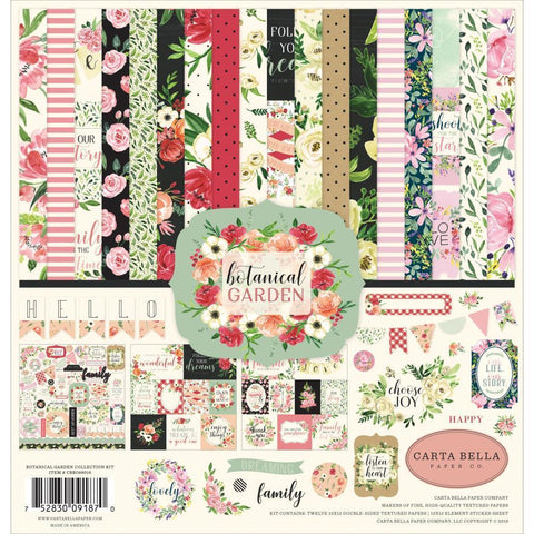 Carta Bella Collection Kit 12x12 inch - Botanical Garden
