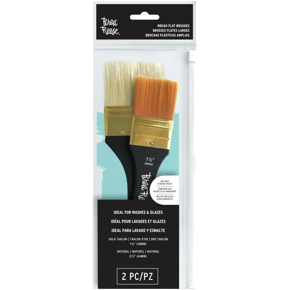 Brea Reese Paint Brush Set Flat 2 pack
