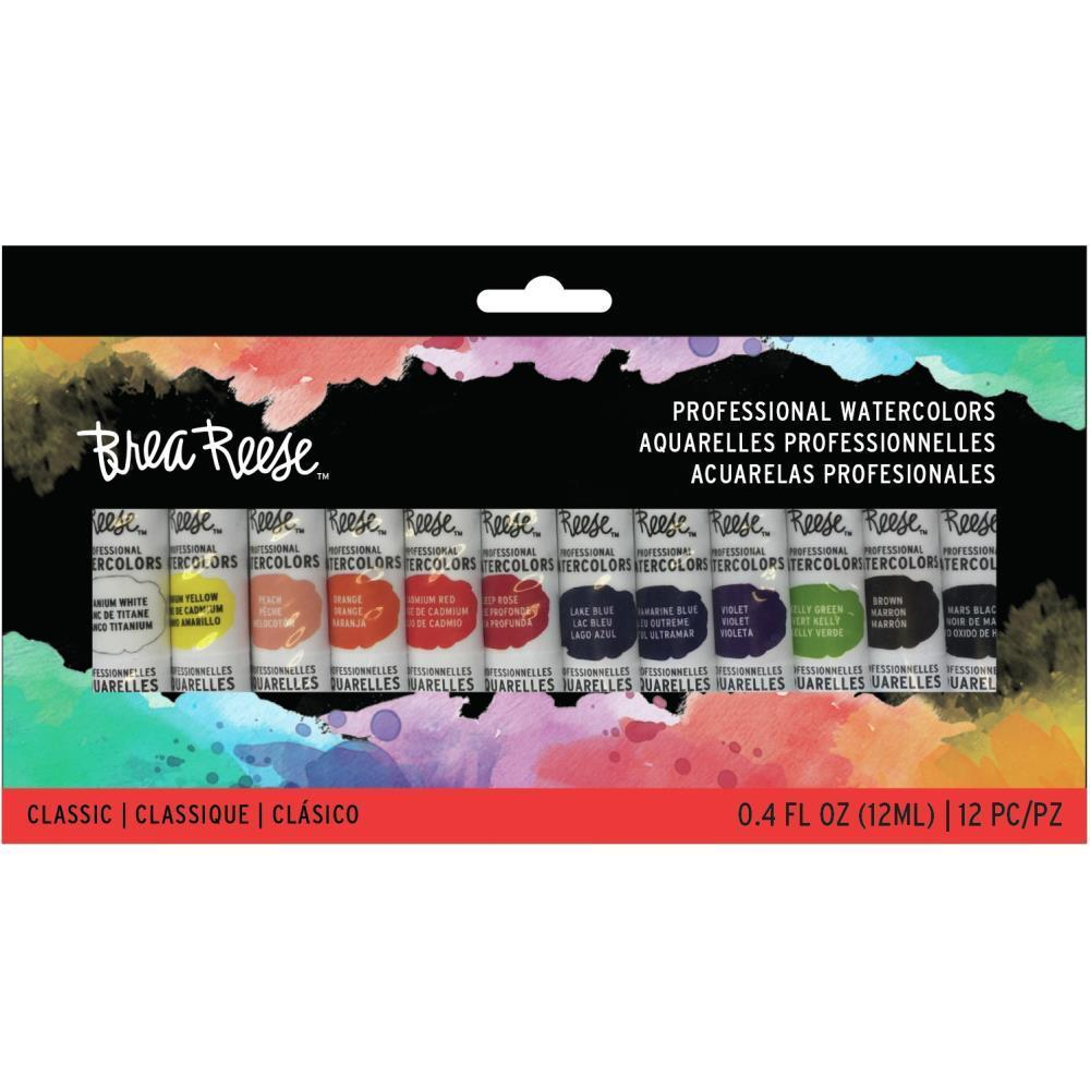 Brea Reese Watercolour Paint Set 12 pack - Primary