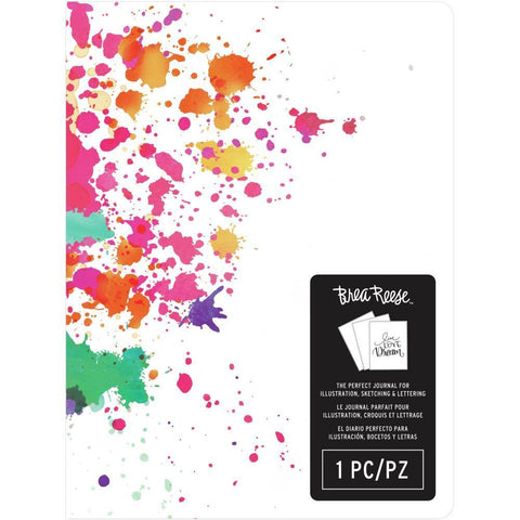 Brea Reese Journal 5.75x8 inch - Paint Splash Cover