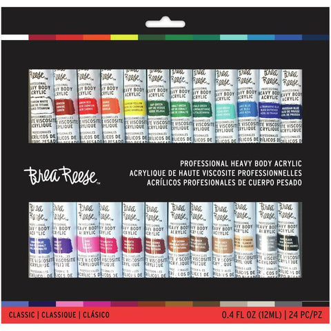 Brea Reese Acrylic Paint Set 24 pack - Classic