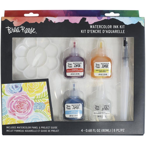 Brea Reese Watercolour Ink Kit 8 pack