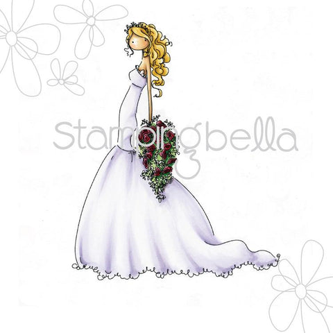 Stamping Bella Cling Stamp - Uptown Girl Brigitte The Bride