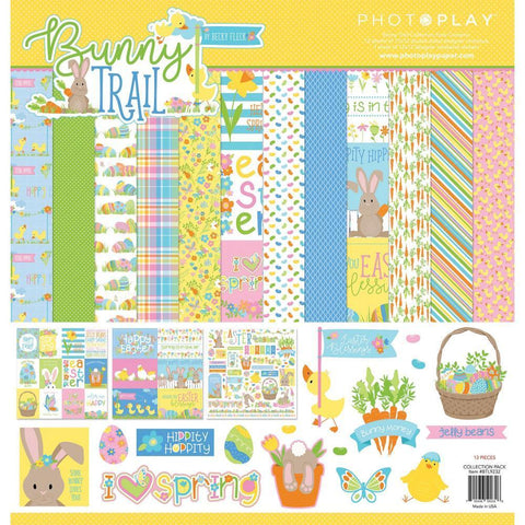 PhotoPlay Collection Pack 12 inch X12 inch Bunny Trail