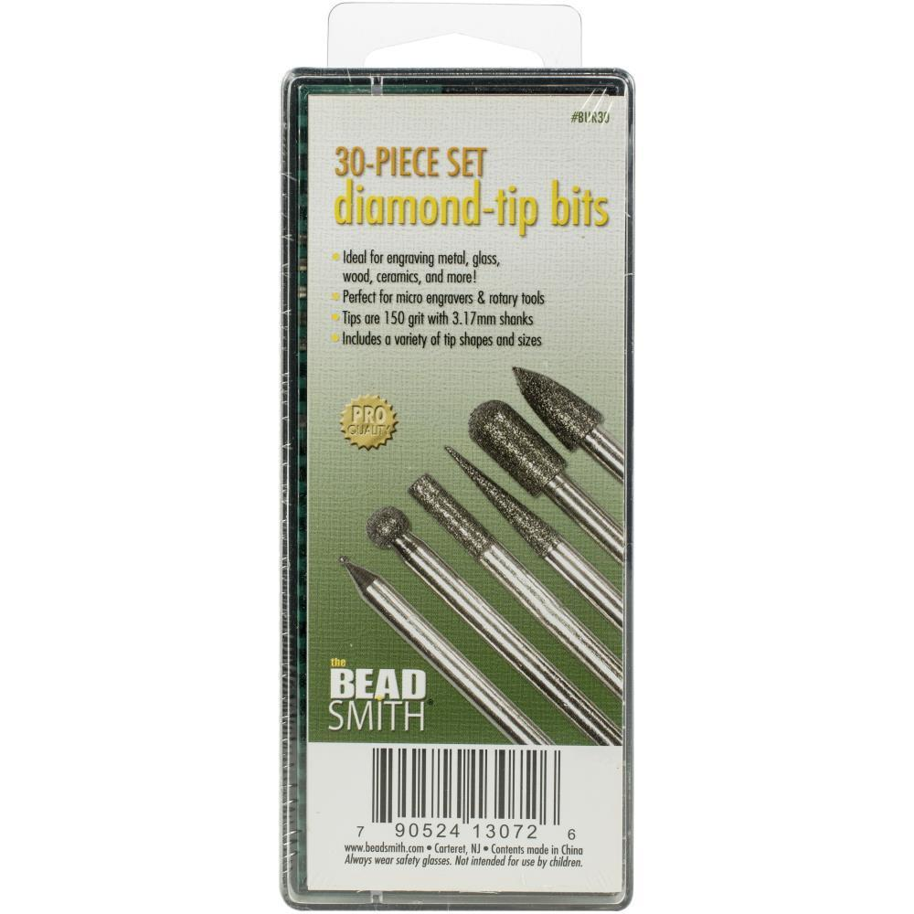 Beadsmith - Diamond-Tip Bits 30 pcs
