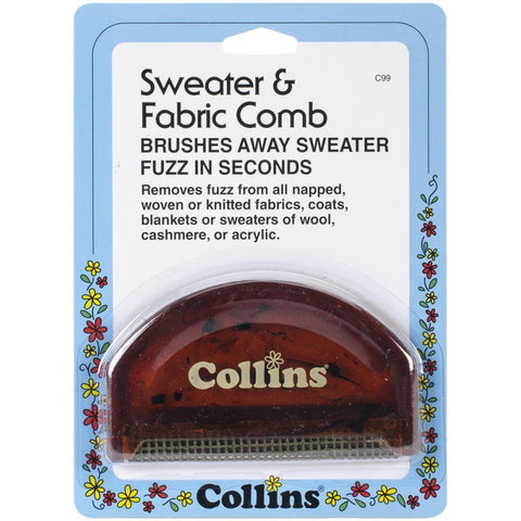 Collins Fabric & Sweater Comb