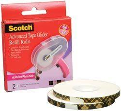 3M Scotch - Advanced Tape Glider Refills (For Pink Atg)