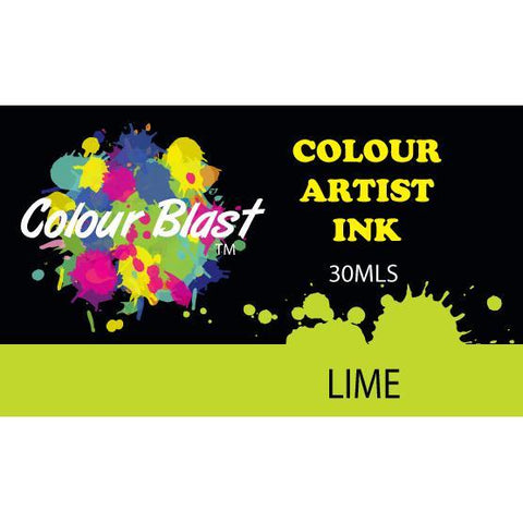 Colour Blast - Colour Artist Inks - Lime