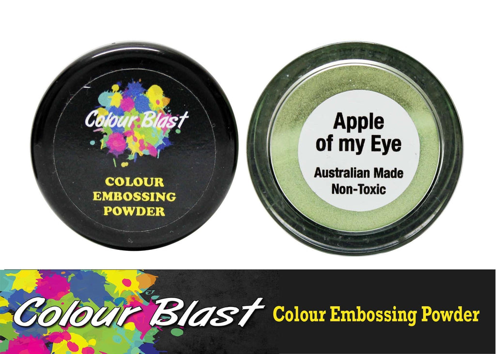 Colour Blast - Colour Embossing Powder - Apple of my Eye