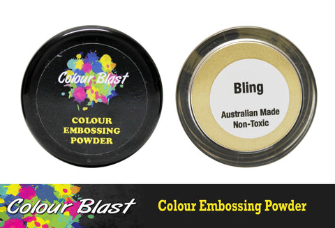 Colour Blast - Colour Embossing Powder - Bling