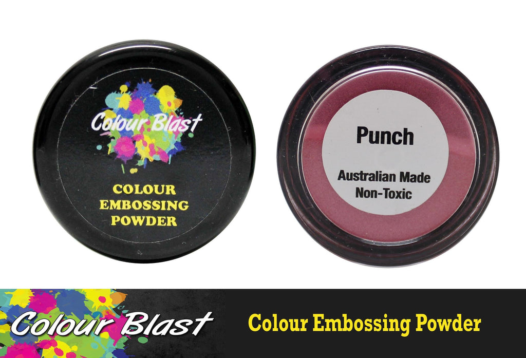 Colour Blast - Colour Embossing Powder - Punch