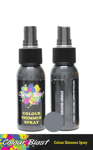 Colour Blast - Colour Shimmer Spray - Stormy Weather