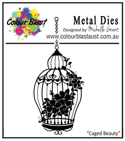 Colour Blast - Star Dust Collection Die - Caged Beauty
