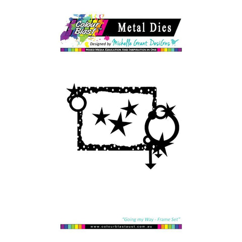 Colour Blast - Going my way Die Collection - Frame