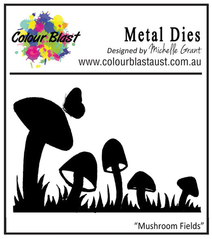 Colour Blast - Star Dust Collection Die - Mushroom Fields