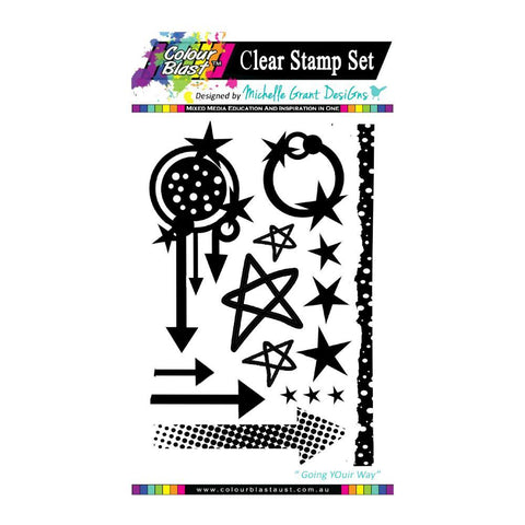 Colour Blast - Going my way Stamp Collection - Going My Way