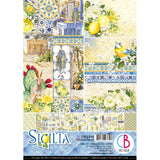 Ciao Bella Double-Sided Creative Pack A4 9 pack - Sicilia, 9 Designs/1 Each