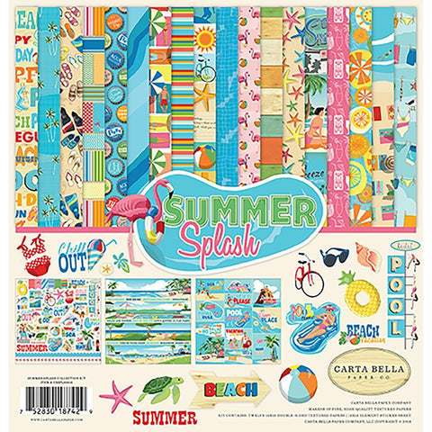 Carta Bella Collection Kit 12x12 inch - Summer Splash