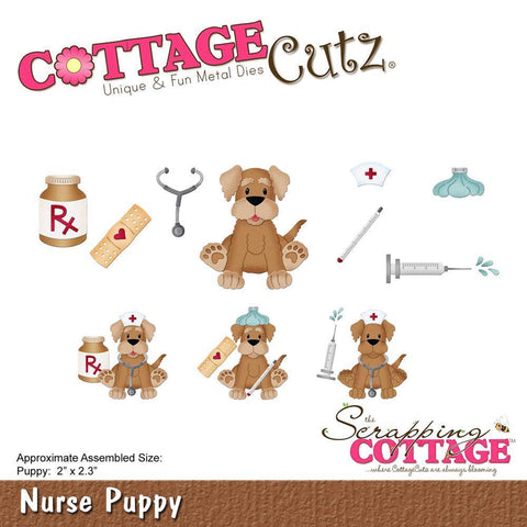 CottageCutz Die - Puppy