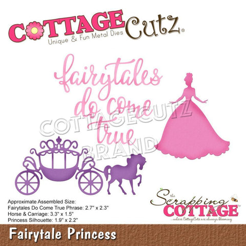 CottageCutz Dies - Fairytale Princess