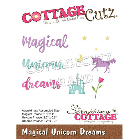 CottageCutz Dies - Magical Unicorn Dreams