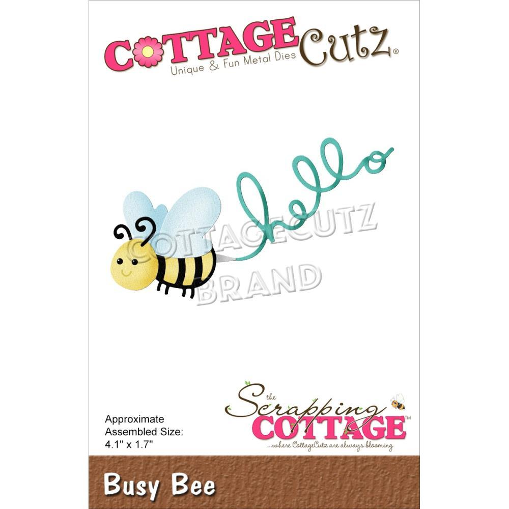 CottageCutz Dies - Busy Bee 4.1in x 1.7in
