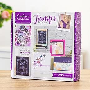 Crafter's Companion - Craft Box Kit - Transfer
