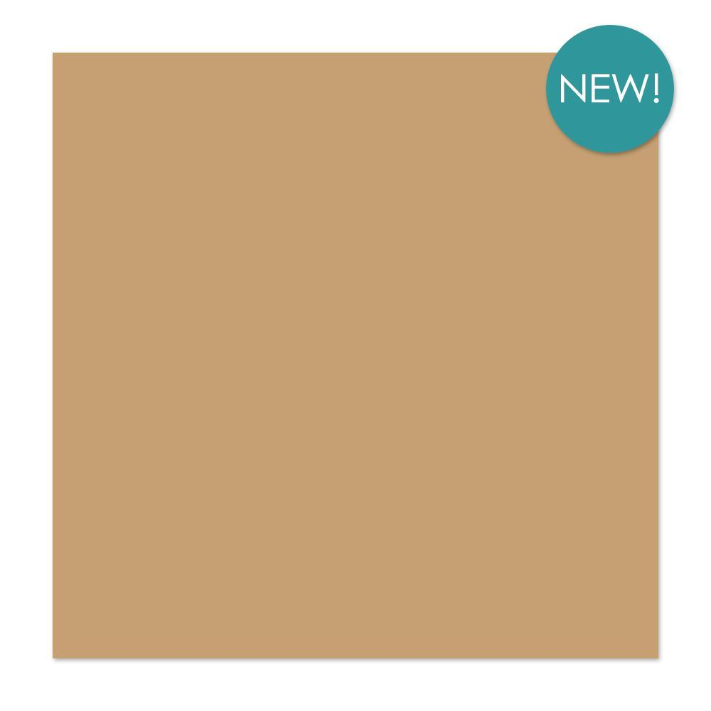 Kaisercraft 12x12 inch, single sheet, Weave Cardstock 220 gsm - Biscuit