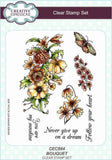 Creative Expressions A5 Clear Stamp Set - Bouquet