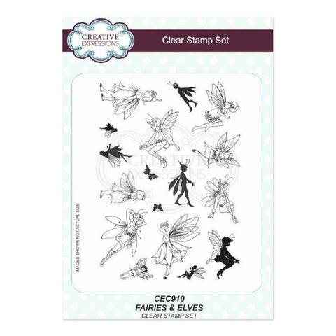 Creative Expressions Clear Stamp Set - Fairies & Elves A5