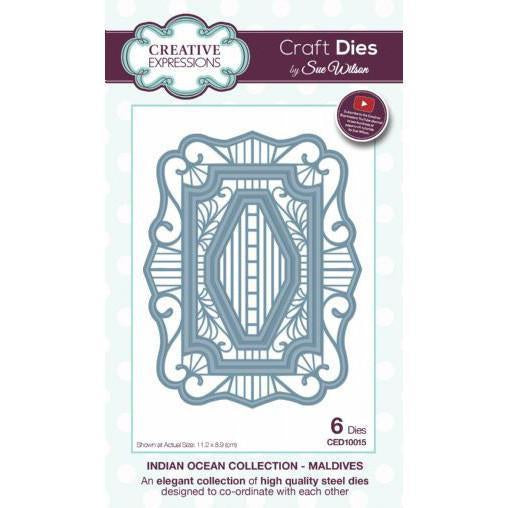 Craft Dies by Sue Wilson - Indian Ocean Collection - Maldives