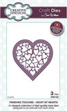 Craft Dies By Sue Wilson - Finishing Touches Collection - Heart Of Hearts