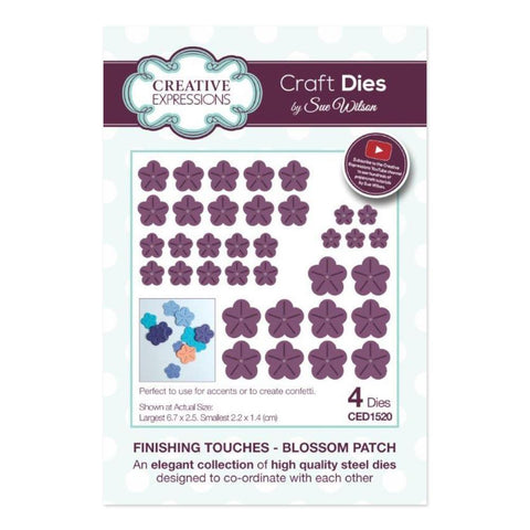 Creative Expressions - Finishing Touches Collection Dies - Blossom Patch