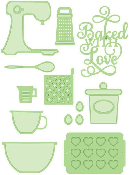 Sue Wilson Dies - Necessities Collection - Baked with Love