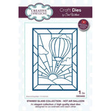 Creative Expressions Stained Glass Collection Die - Hot Air Balloon