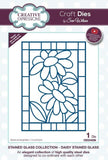 Creative Expressions Stained Glass Collection Die - Daisy