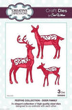 Sue Wilson Dies - Festive - Collection - Deer Family