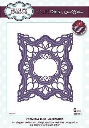 Craft Dies By Sue Wilson - Frames & Tags Collection - Alexandra