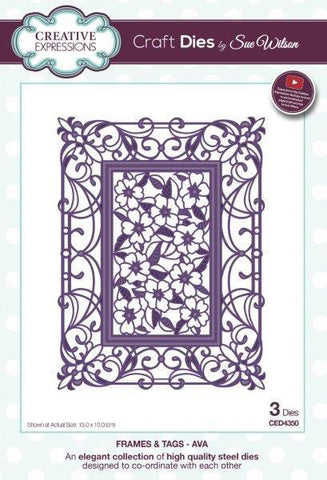 Sue Wilson Designs Die - Frames and Tags - Ava