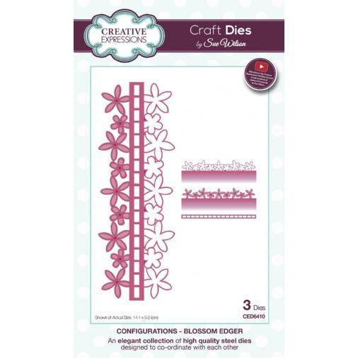 Craft Dies by Sue Wilson - Configurations Collection - Blossom Edger