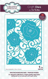 Craft Dies By Sue Wilson - Mini Background Collection - Pierced Roses Die