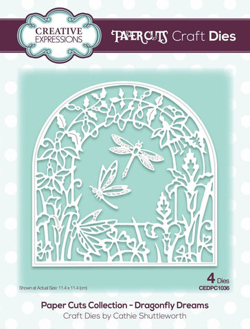 Creative Expressions - Paper Cuts Collection Die - Dragonfly Dreams