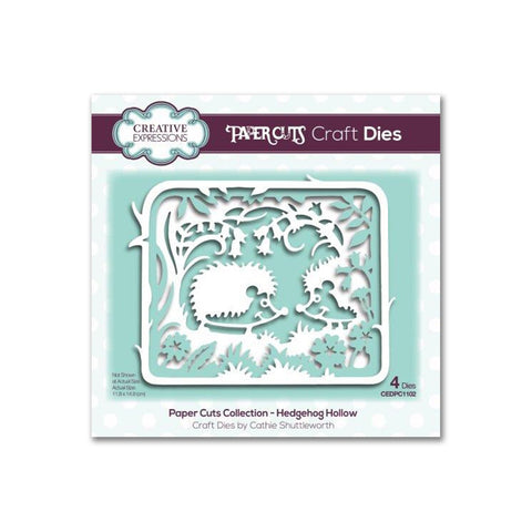 Creative Expressions Paper Cuts Die - Hedgehog Hollow