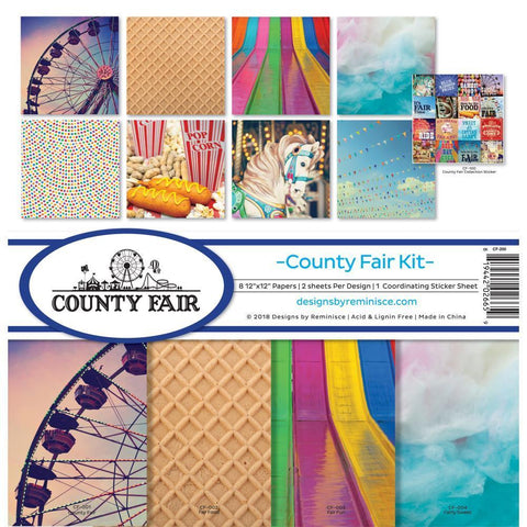 Reminisce Collection Kit 12x12 inch - County Fair