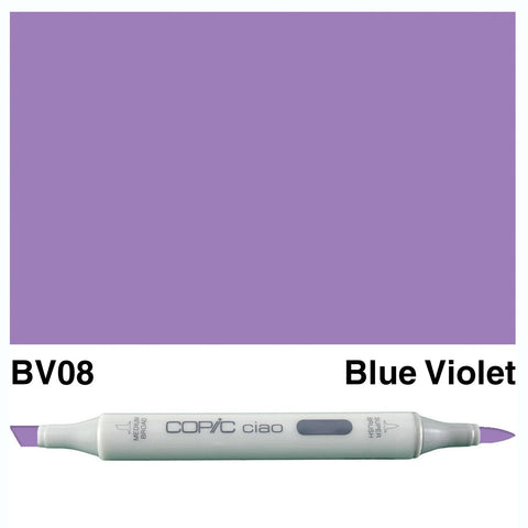 Copic Ciao Marker - BV08 - Blue Violet
