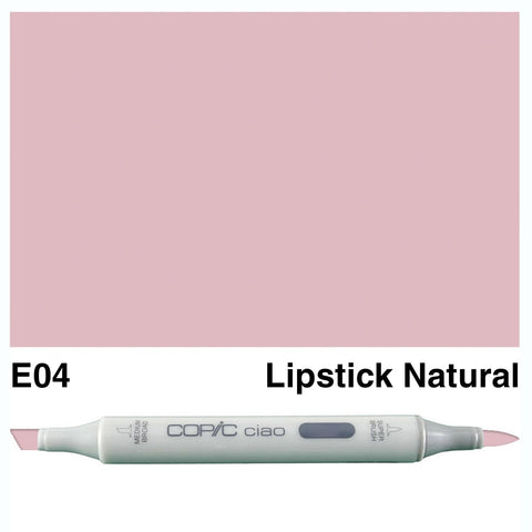 Copic Ciao Marker - E04 - Lipstick Natural