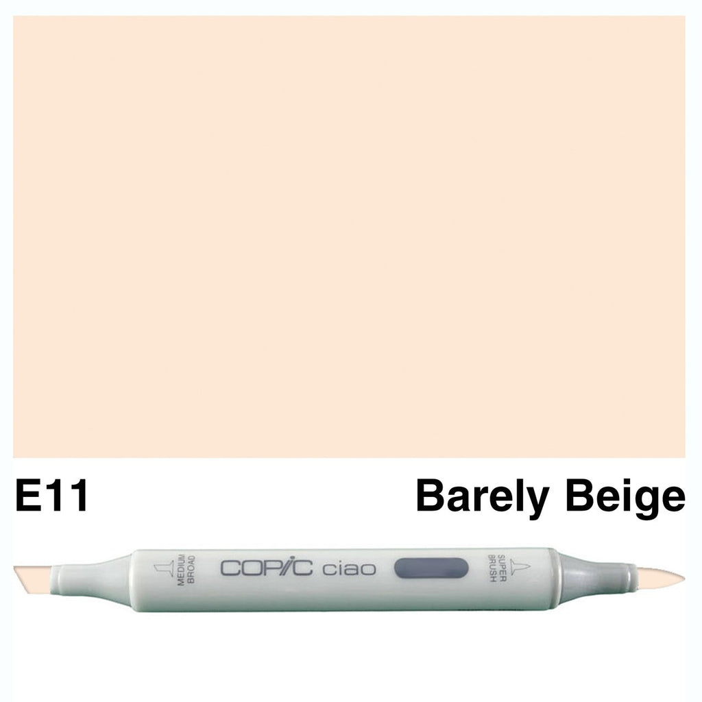 Copic Ciao Marker - E11 - Bareley Beige