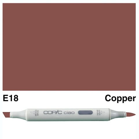 Copic Ciao Marker - E18 - Copper