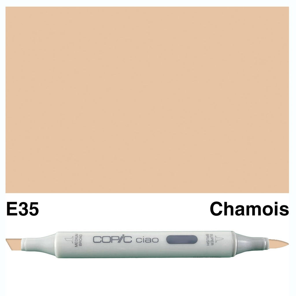 Copic Ciao Marker Pen- E35 - Chamois